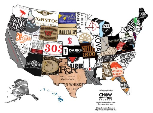 Craft Distillers in all 50 States